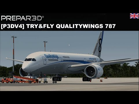 [P3DV4] Try&Fly Qualitywings B787 (ENGLISH)