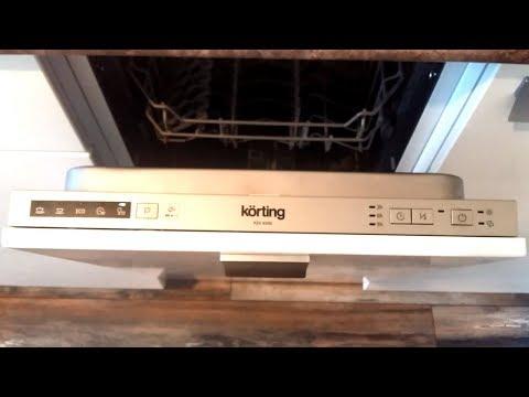 Посудомоечная машина Korting KDI 4540. Отзыв и обзор
