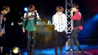 120615 SHINee @ Boyz Nite Out - Stranger (Ontae focused) [HD]
