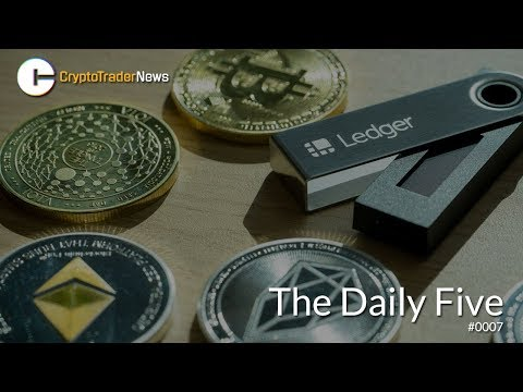 Top Five Crypto Hardware Wallets | The Daily Five #0007