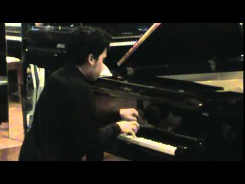 Chance Israel's Solo Recital at the Manila Pianos