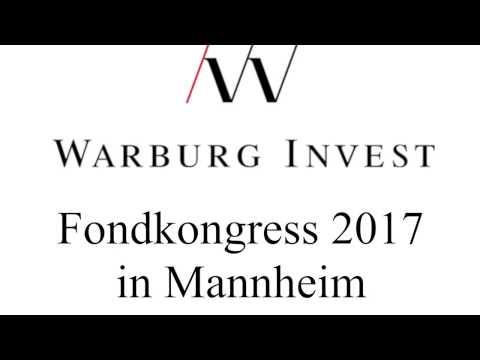 Moderation für M.M.Warburg beim Fondkongress 2017