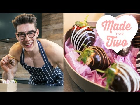 Chocolate-Covered Strawberry Truffles | Food Network