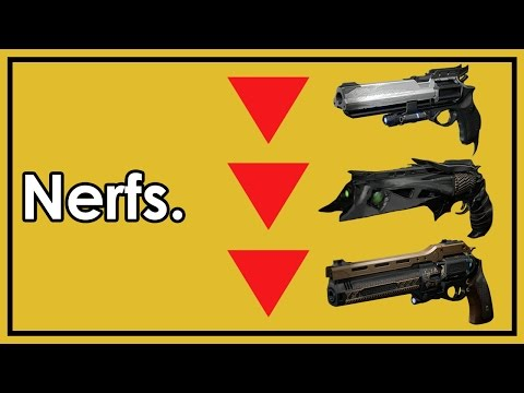 Destiny Rise of Iron: Why Has Bungie Been Nerfing Guns So Much?