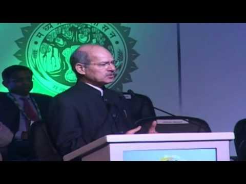 MoEFCC Shri Anil Madhav Dave addresses Global Investors Summit 2016