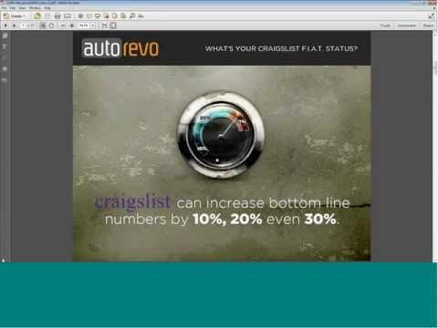 Craigslist FIAT - The Secret Formula for Car Dealers on Craigslist - CARFAX PowerUp Webinar