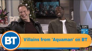 Patrick Wilson and Yahya Abdul-Mateen II star in 'Aquaman'