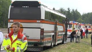 Schrottbus mit falschem Ziel