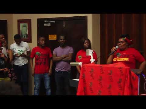 MamKhawula   Speaks about women abuse in Howard college, UKZN
