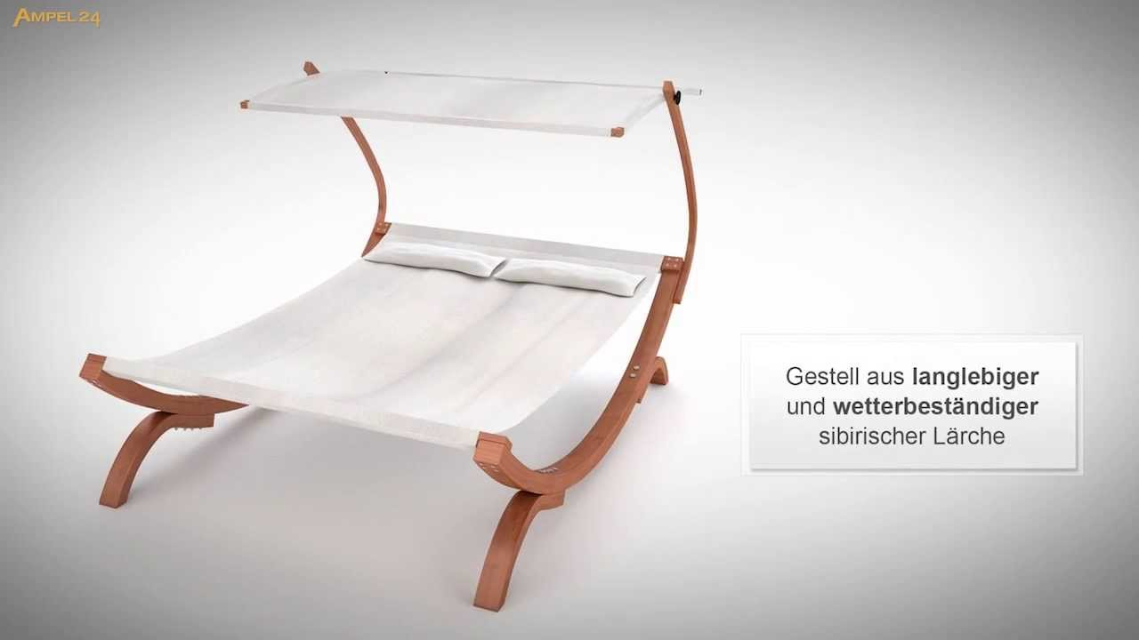 sonnenliege panama f r 2 personen youtube. Black Bedroom Furniture Sets. Home Design Ideas