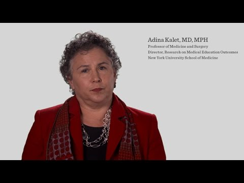 Adina Kalet, MD, MPH of NYU School of Medicine