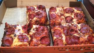 Viewer Request: Little Caesar's Bacon Wrapped Deep Deep Dish Pizza Review