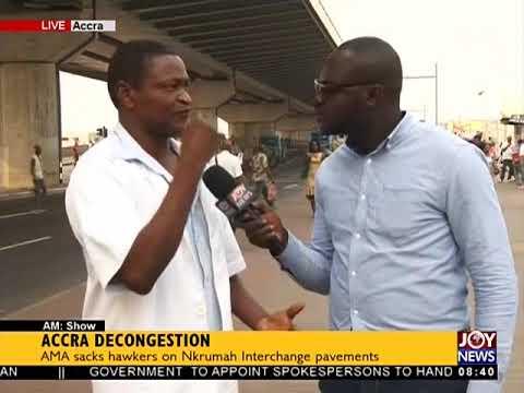 Accra Decongestion - AM Show on JoyNews (9-1-18)