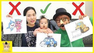 3 MARKER CHALLENGE Magic Show for Kids Pinkpong Disney Cars 3 Lightning toys | MariAndKids Toys