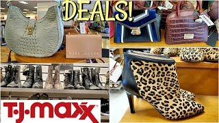 TJ MAXX Purse and shoe SHOPPING DEALS * SHOP WITH ME 2019