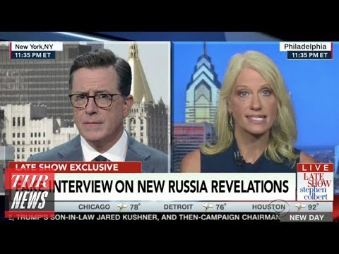Donald Trump Jr., Kellyanne Conway Mocked by Late-Night Hosts Over Russia Controversy | THR News