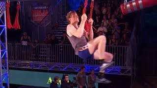 Ben Cossey semi-final run | Australian Ninja Warrior 2017
