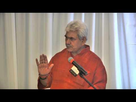 Manoj Sinha's Speech IIT-BHU Alumni Meet Part-2