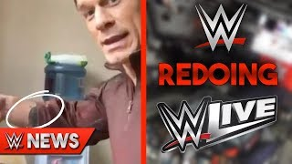 John Cena Got An Arm Tattoo?! WWE Redoing Live Events?! - WWE News Ep. 199