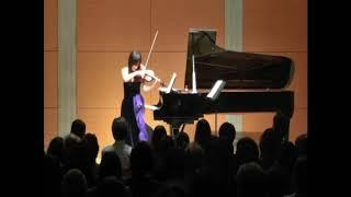 Sumine Hayashibara Violin Recital 8/8: Sarasate, Zigeunerweisen