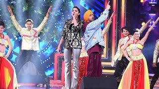 anushka sharma rap singing with diljeet in 9th royal stag music mirchi awards 2017