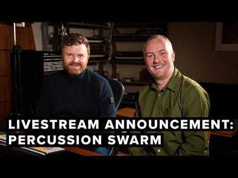Percussion Swarm —Live Stream Announcement