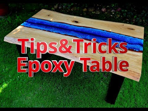 DIY: Tips&Tricks- amazing river table with epoxy & oak