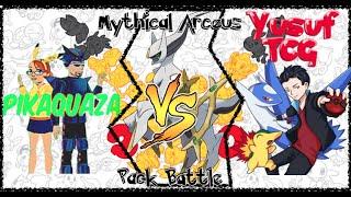Pokemon Cards- Box Battle with Generation Arceus Box! VS Yusuf TCG! - Stafaband