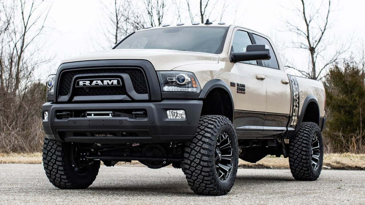 2018 Ram Power Wagon >> 2018 Ram 2500 Power Wagon Brown Vehicle Profile