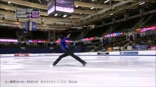 宇野昌磨さんの2015年世界ジュニアフィギュアスケート選手権のショート...