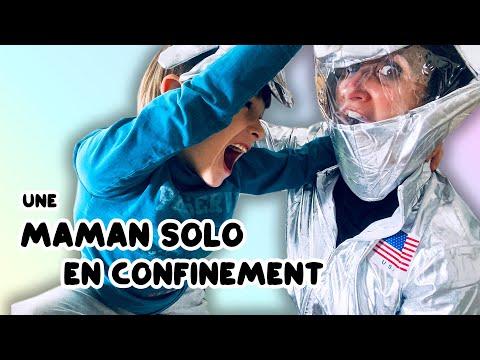 Être MAMAN SOLO en ce moment : entre ÉCOLE À LA MAISON et HYPOCONDRIE!!! - Angie la Crazy Série