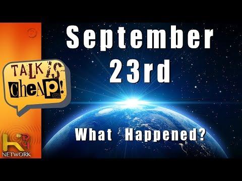 September 23rd WHAT HAPPENED?