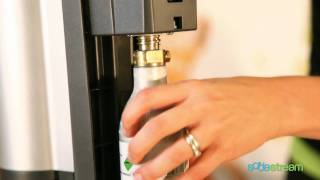 SodaStream - Comment remplacer le cylindre dans votre appareil Crystal SodaStream