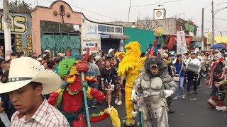 """Carnaval Tlaltenco 2019 Disfraces """" Sociedad Benito Juarez"""""""