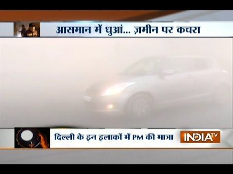 Hold your Breath: Pollution Goes through the Roof in Delhi, Visibility Plunges