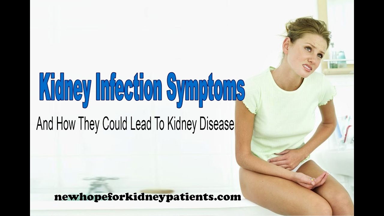 Sick kidneys. Symptoms and signs