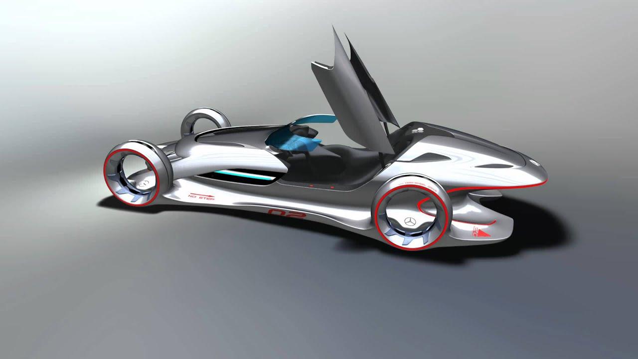 La auto show 2011 design challenge mercedes benz silver for Mercedes benz silver lightning