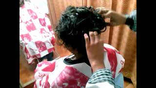 Real video!!!Customer hair fixing experience in Bangalore,9886161166 www.refixmyhair.com
