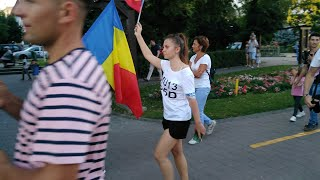 Protest Suceava, 10 august 2018
