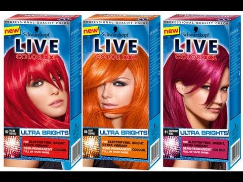 Schwarzkopf LIVE Colour XXL Ultra Brights BRIGHT HAIR COLOURS Review