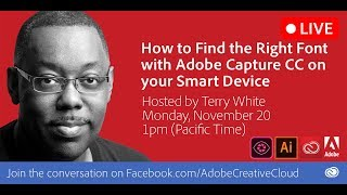 How to Find The Right Font Using Adobe Capture CC on your Smart Device