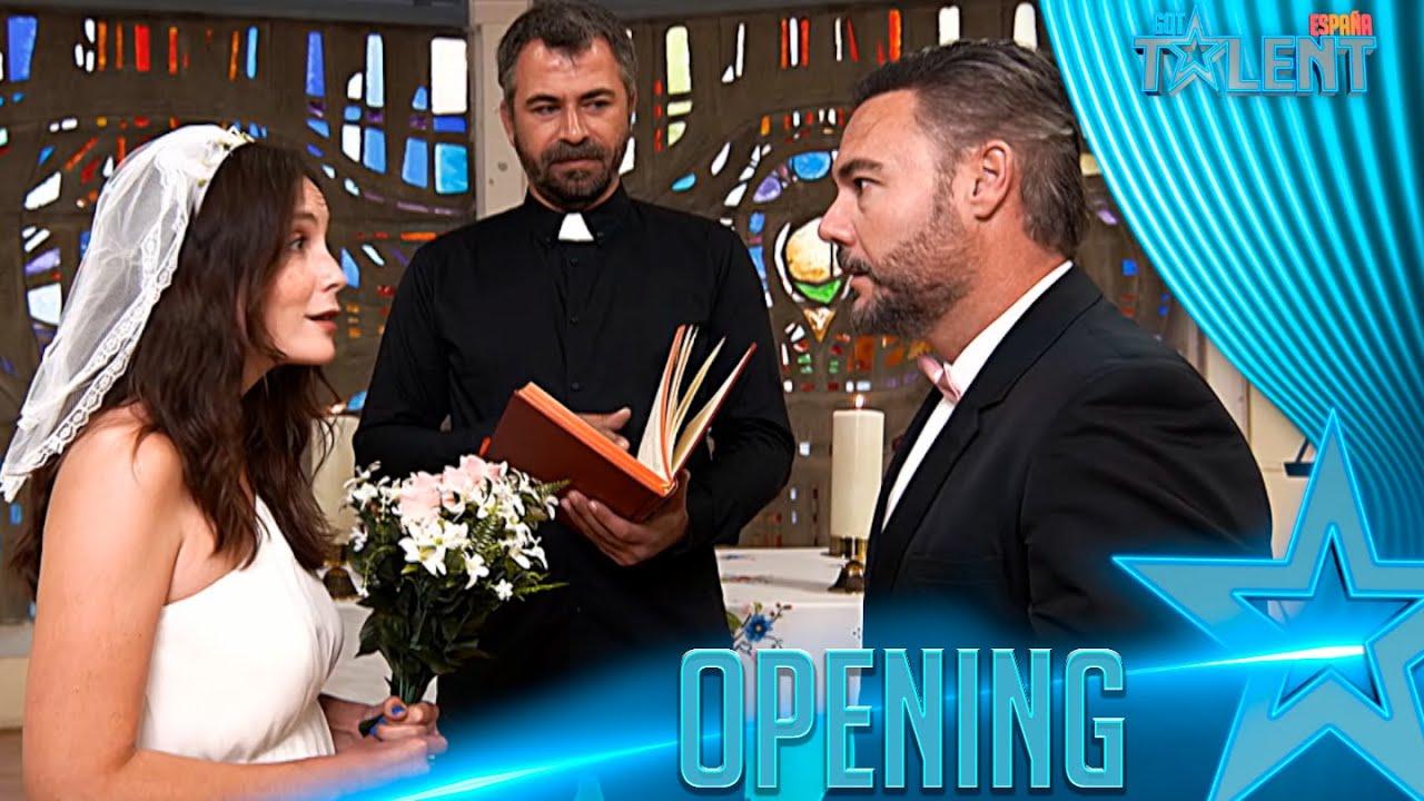 Una NOVIA deja plantado a su NOVIO por ir a «GOT TALENT» | Openings | Got Talent España 7 (2021)