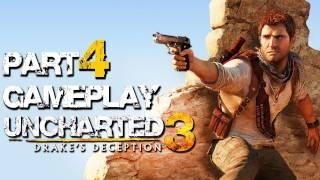 """Uncharted 3 -Part 4 """"Rennen zum Grund"""" Gameplay - PS3 Deutsch HD"""