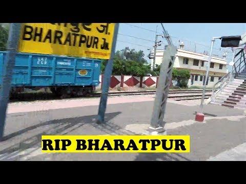 WAP7 TVC Rajdhani Honks Tears Bharatpur Junction