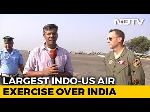 Download The Largest Ever India-US Air Combat Exercise Over Indian Airspace