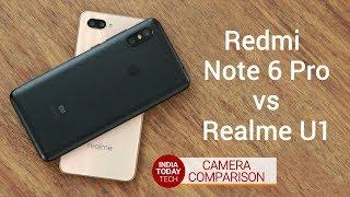Redmi Note 6 Pro vs Realme U1 - camera comparison