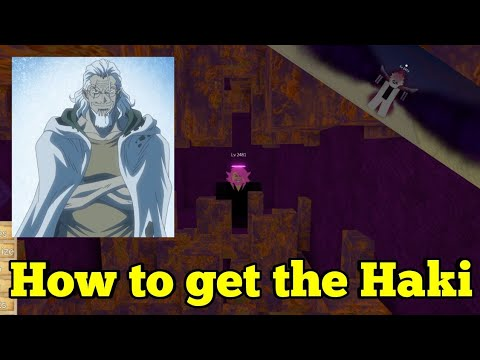 How To Get The Haki-One Piece Legendary-Roblox