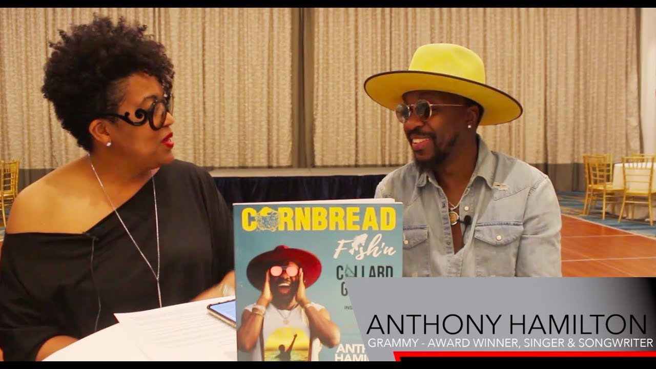 Anthony Hamilton Interview: New Book Review, Cooking Recipes, and Plenty of Laughs Part 1 & 2 of 3