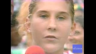 FULL VERSION Seles vs Graf 1990 French Open Roland Garros