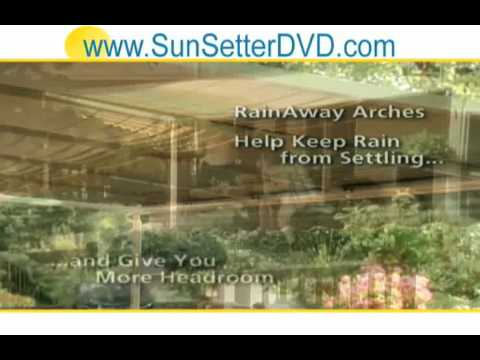 Vermont Sunsetter Retractable Awnings And Screen Room  Video